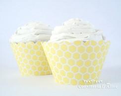 Wrapper para Cupcake Abelhinha