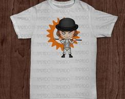 Camiseta - Personagem Laranja Mec�nica