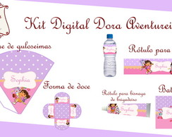 Kit Digital Dora Aventureira