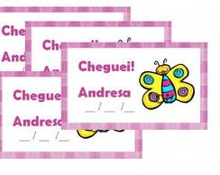 "Tag ""Cheguei"" Borboletas"