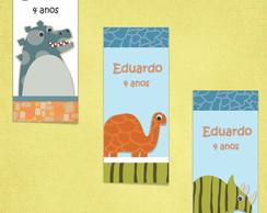 R�tulo Tubete/Bisnaga tema Dinossauros