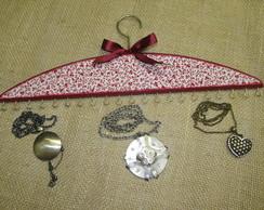 Cabide para colares e pulseiras