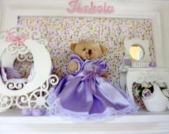 Enfeite porta de maternidade princesa
