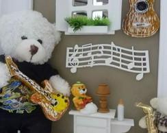 Enfeite porta de maternidade Musica
