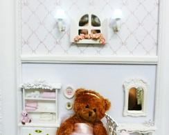 Enfeite para porta de maternidade