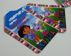 Pacote com 32 Tags agradecimento Dora