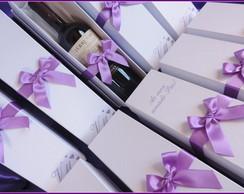 Caixas Personalizadas Para mini Vinho