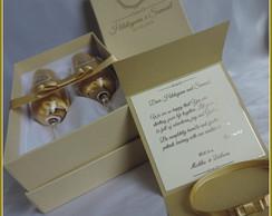 Kits Ta�as De Cristal C/ Cart�o especial