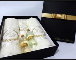 Kits com Toalhas de Banho Personalizadas