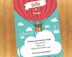 Convite Digital - Bal�o