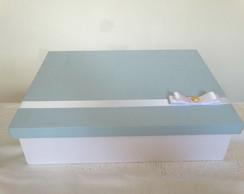 Caixa de MDF 100% forrada em tecido