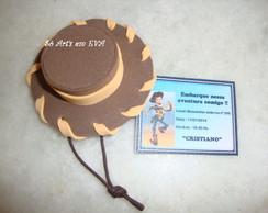 Chap�u Toy Story lembrancinha /convite