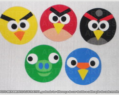 KIT PAINEL EVA ANGRY BIRDS MD -10PC