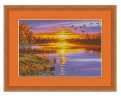 Ponto Cruz - P�r do Sol de Outono