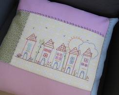 capa para almofada casinhas