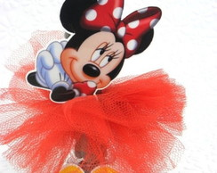 Tubetes decorados Minnie Vermelha
