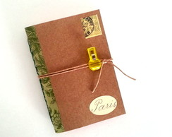 CADERNO PARIS - COLE��O POST OFFICE