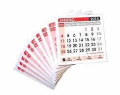 100 Mini Calend�rios 2015 - DESTACADO