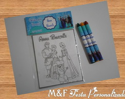 Kit Pintura Frozen