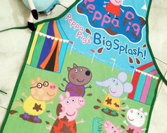 Avental Personalizado Peppa Pig