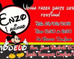 Convite 10x15 cm