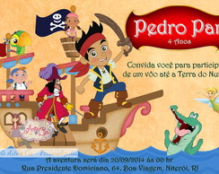 Convite Jake e os Piratas