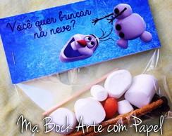 Lembrancinha Olaf - Frozen