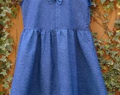 Vestido rodado infantil