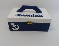 Farmacinha Azul Marinha