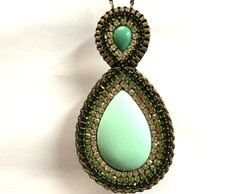 Colar Etnic Verde (ET024)