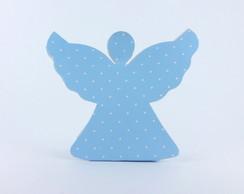 Caixa Anjinho - Azul Po� Branco