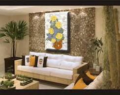 Quadro Sala de Estar ou Jantar Girassol