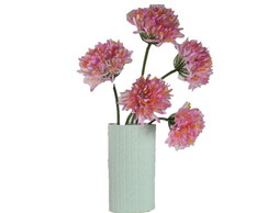 Agapanthus Rosa | Vaso Cer�mico Tricot