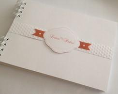 Caderno Assinatura Branco