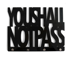 Porta Chaves You Shall Not Pass - Geek (
