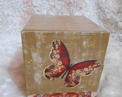 Gaveteiro - borboleta Dourada