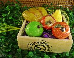 Caixinha com Mini Frutas