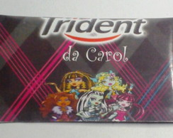 R�tulo para Trident Monster High