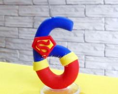 VELA M�GICA SUPERMAN 6 ANOS