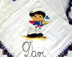 Fralda pintada ( marinheiro)