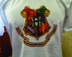 Camiseta Casas de Hogwarts - Harry Potte