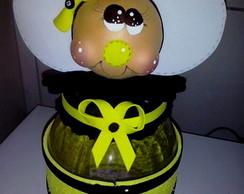 Pote decorado abelhinha