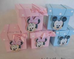 Lembrancinha Minie e Mickey Baby