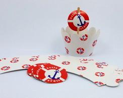 Wrapper Marinheiro - B�ia (saia cupcake)