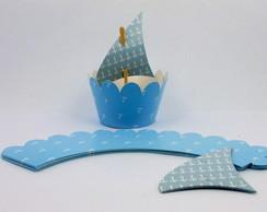 Wrapper Marinheiro - Azul Claro