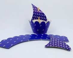 Wrapper Marinheiro - Azul Escuro