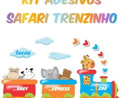 Kit Adesivos Safari Trenzinho - Grande