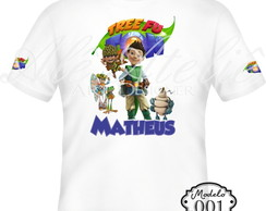 Camiseta Tree Fu Tom Personalizada
