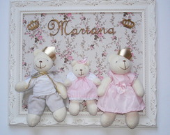 Porta Maternidade Fam�lia Urso