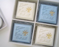 Caixa Sabonetes personalizados pintados